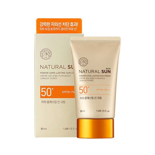 The Face Shop Natural Sun Long Lasting Sunscreen SPF50 PA+++